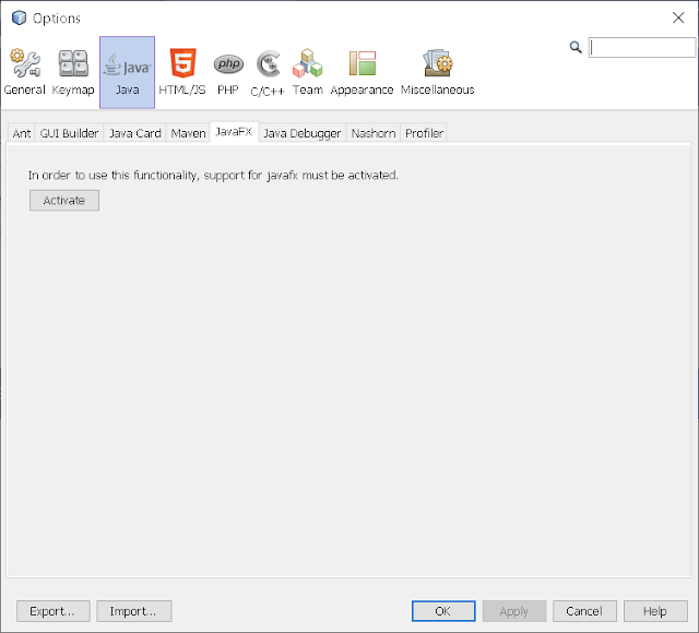 Step 2 - Integrate JavaFX Scene Builder on NetBeans 8.2