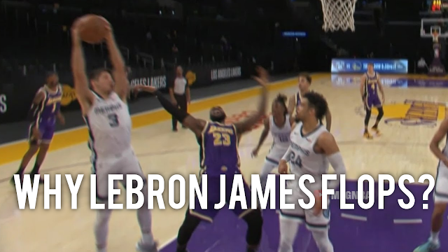 WHY LEBRON JAMES FLOPS? REAL REASON WILL BLOW YOUR MIND! 😲