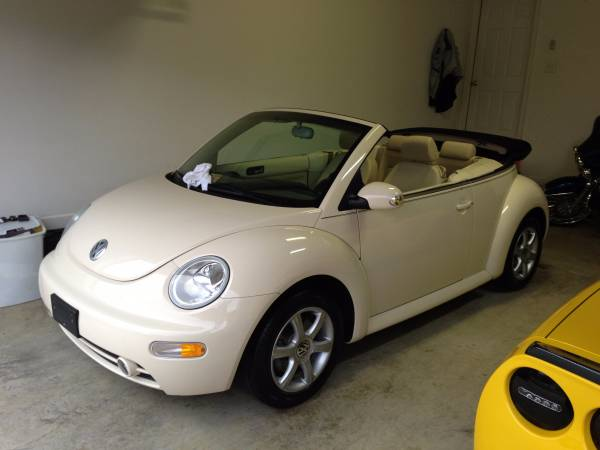 used 2004 vw beetle gls turbo convertible by owner. Black Bedroom Furniture Sets. Home Design Ideas