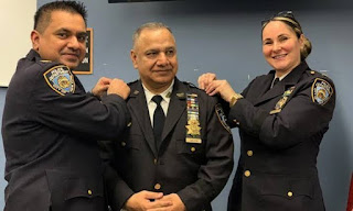 Pakistani-American police officer occupies important post