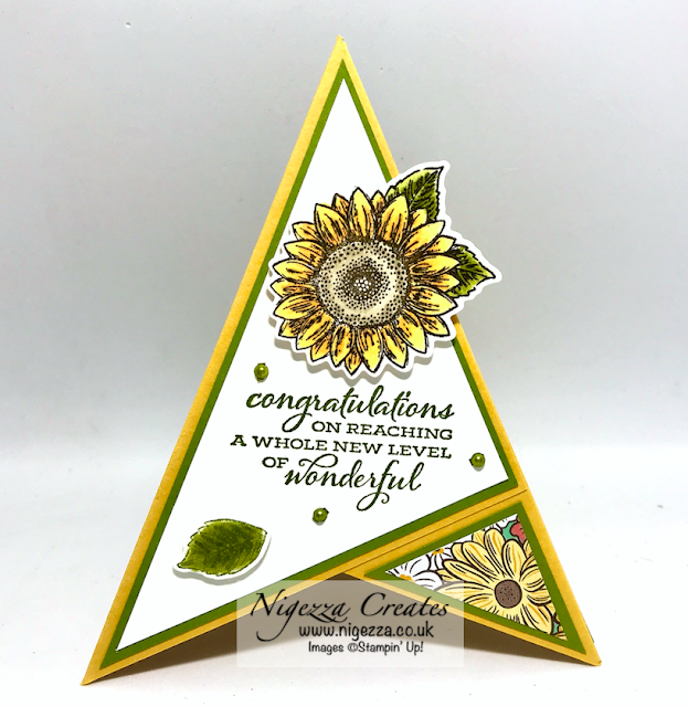 Nigezza Creates with Stampin' Up! Celebrate Sunflowers & Ornate Garden