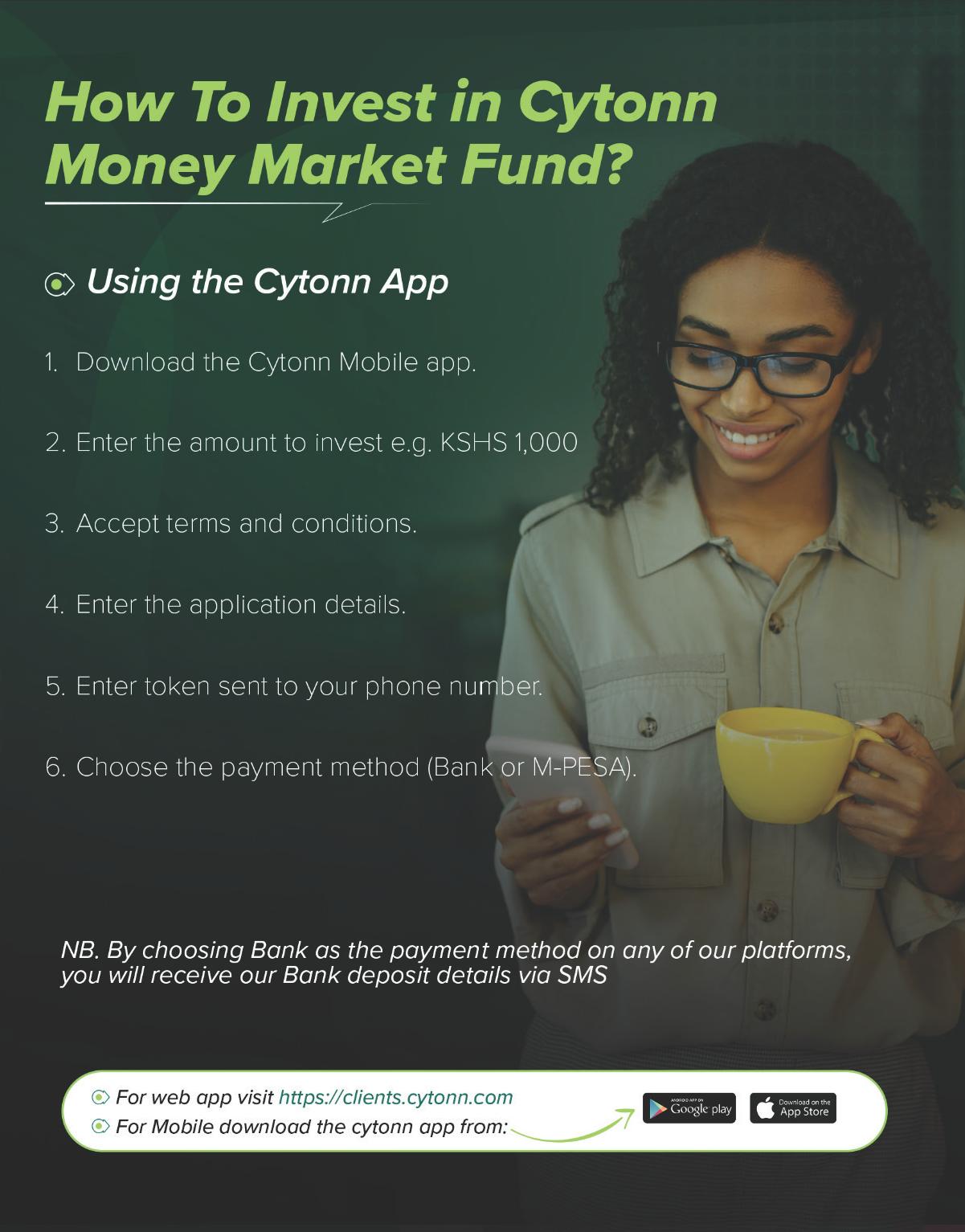 Cytonn Money Market Fund app