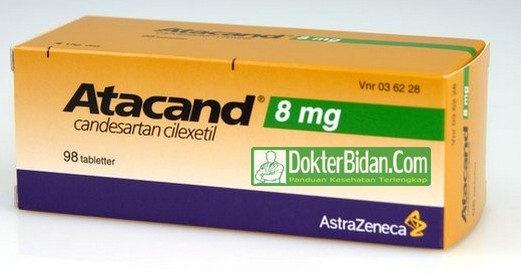 Candesartan Cilexetil - Info Dosis Obat Bahaya Efek Samping Dan Fungsinya