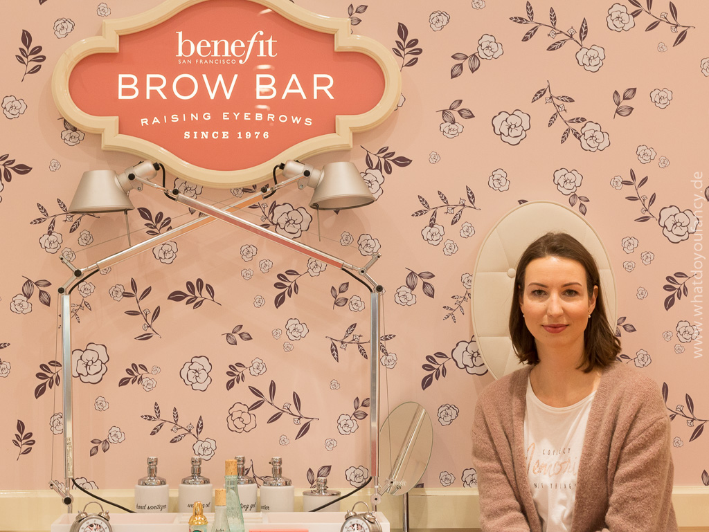 Benefit Brow Bar Karstadt Boutique Kudamm Berlin