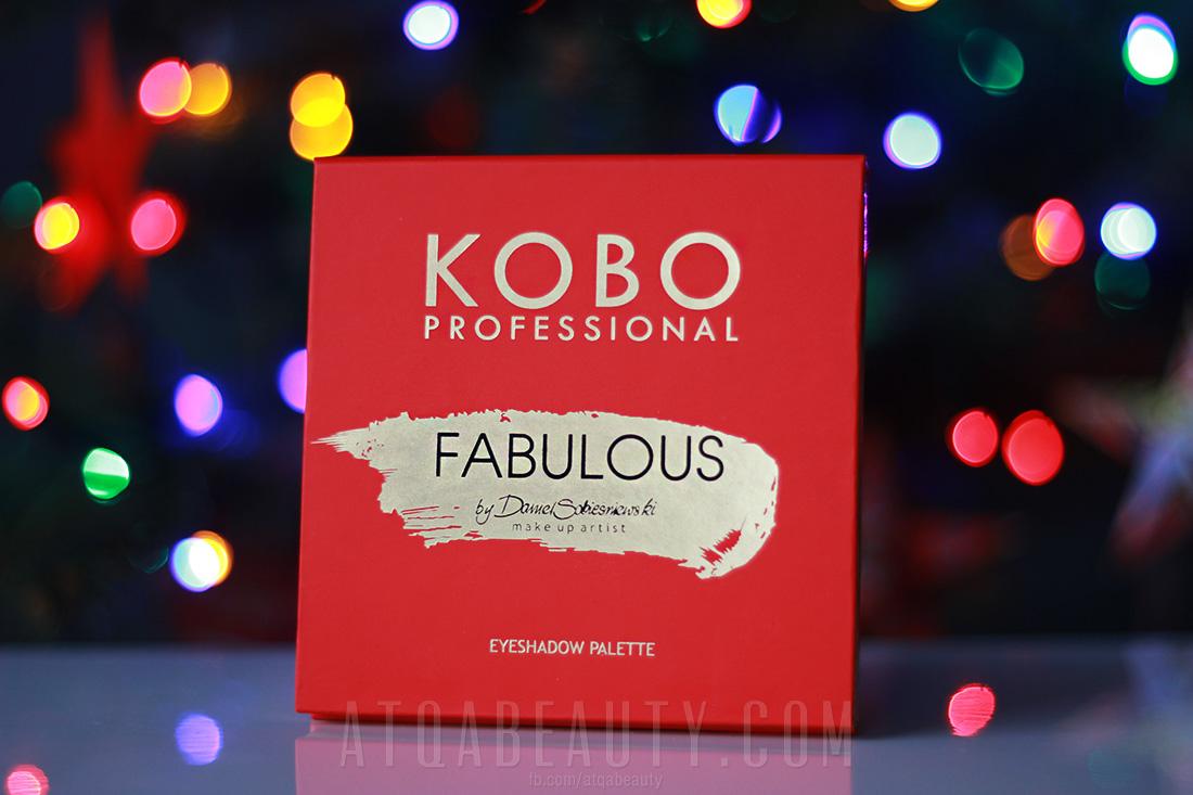 Paleta Fabulous KOBO Professional