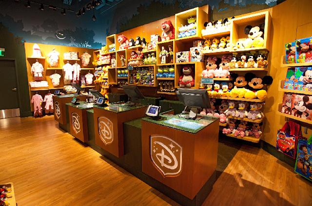Lojas Disney Store em Miami