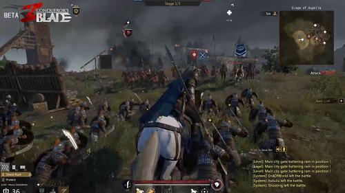 Conqueror's Blade pha trộn nhiều phân mục vào cùng nhau