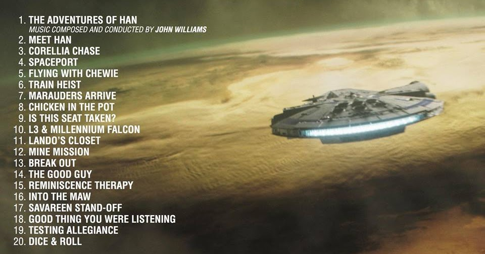 John Powell Reveals Tracklist For 'Solo: A Star Wars Story' Soundtrack Album 1
