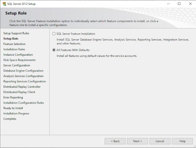 How to Install SQL Server 2012