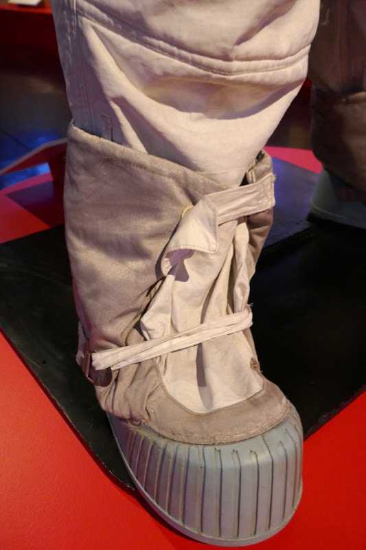 First Man Neil Armstrong Apollo NASA spacesuit boot