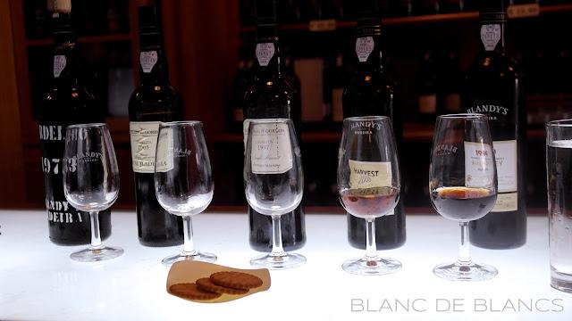 Madeira tasting @ Blandy's - www.blancdeblancs.fi