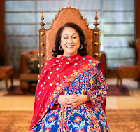 Smt Kiran Nadar – Founder and Chairperson of Kiran Nadar Museum of Art, Trustee Shiv Nadar Foundation and Philanthropist