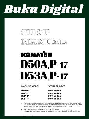 Shop Manual komatsu d50a-17 d50p-17 d53a-17 d53p-17