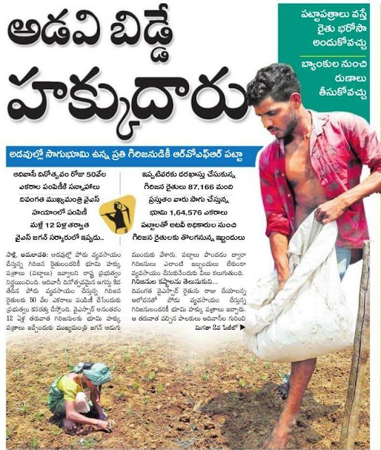 right for forest cultivators ysrrb