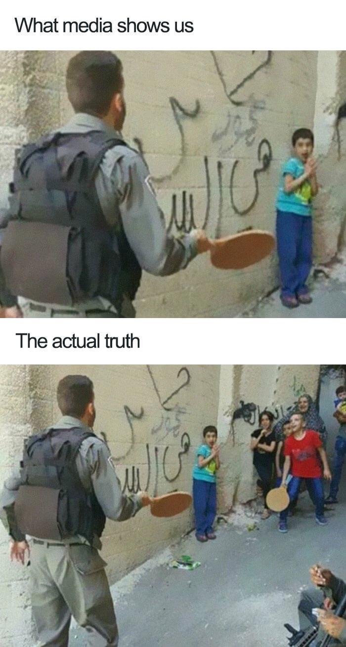 13 Photos Demonstrate How Media Gives A False Idea Of The Truth