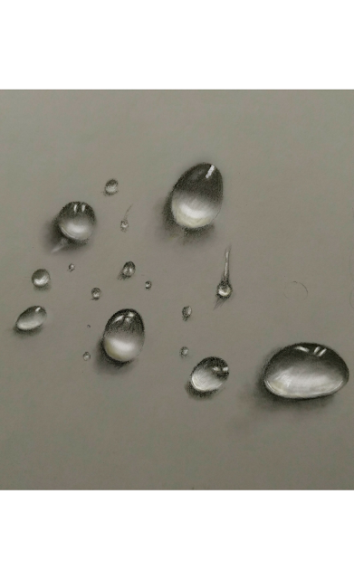 Some water drops