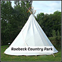 Tipi at Robeck Country Park