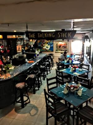 Talking Stick Bar & Restaurant, Towne Hotel Nassau - curiousadventurer.blogspot.com