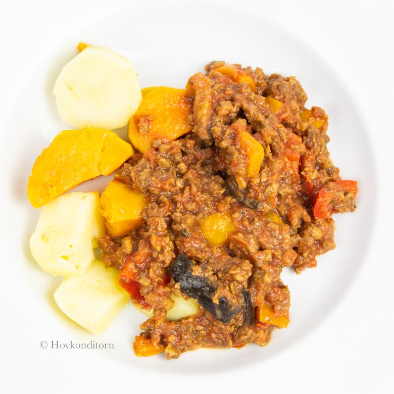 Peppery Minced Meat Sauce