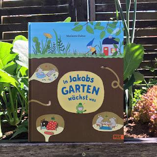 """""""In Jakobs Garten wächst was"""" Bilderbuch von Marianne Dubuc, Beltz Verlag, Buchvorstellung auf Kinderbuchblog Familienbücherei"""