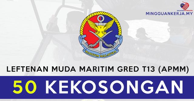 SPA Buka 50 Jawatan Kosong Terkini Leftenan Muda Maritim Gred T13 (APMM) ~ Mohon Segera Sebelum 14 September 2020