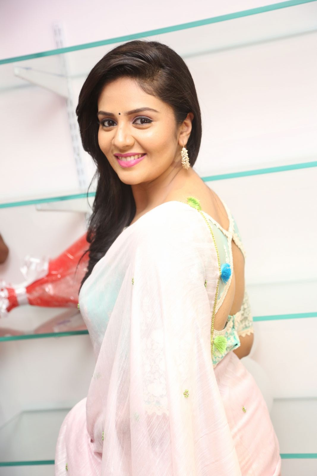 Srimukhi at Manvis launch event-HQ-Photo-13