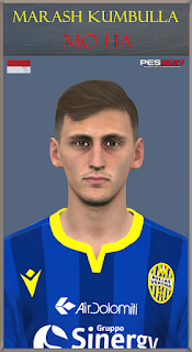 PES 2017 Faces Marash Kumbulla by Mo Ha