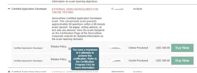 CAD exam ServiceNow 2021