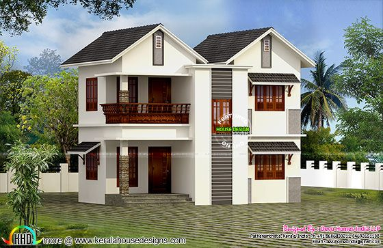 Vastu Facing West Home Plan Kerala Home Design Bloglovin