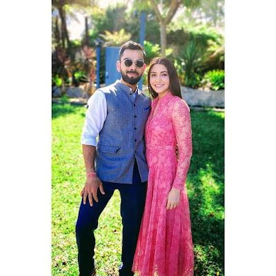 Anushka Sharma and virat kohli  image