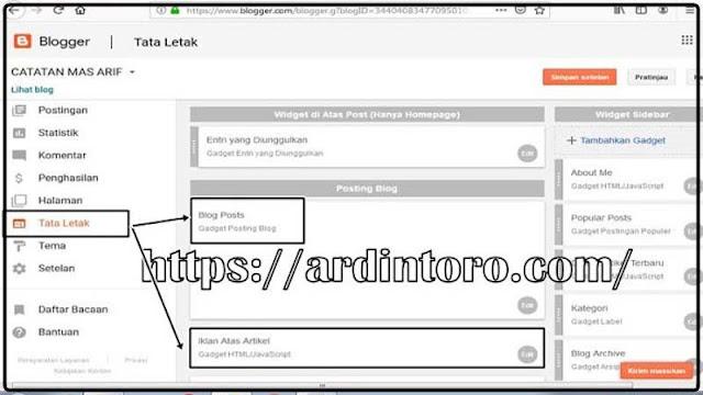 Cara Membuat Blog Safelink