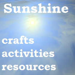 Sun craft, activities and resources for toddlers