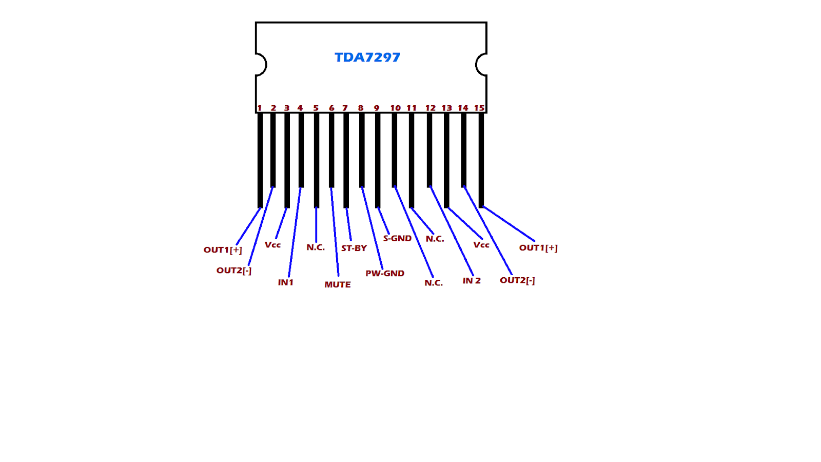 Tda Ic Wiring Details Technical Mriganka