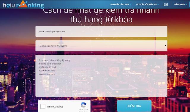 công cụ helu ranking seo top google