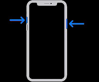 cara screenshot di iphone 11