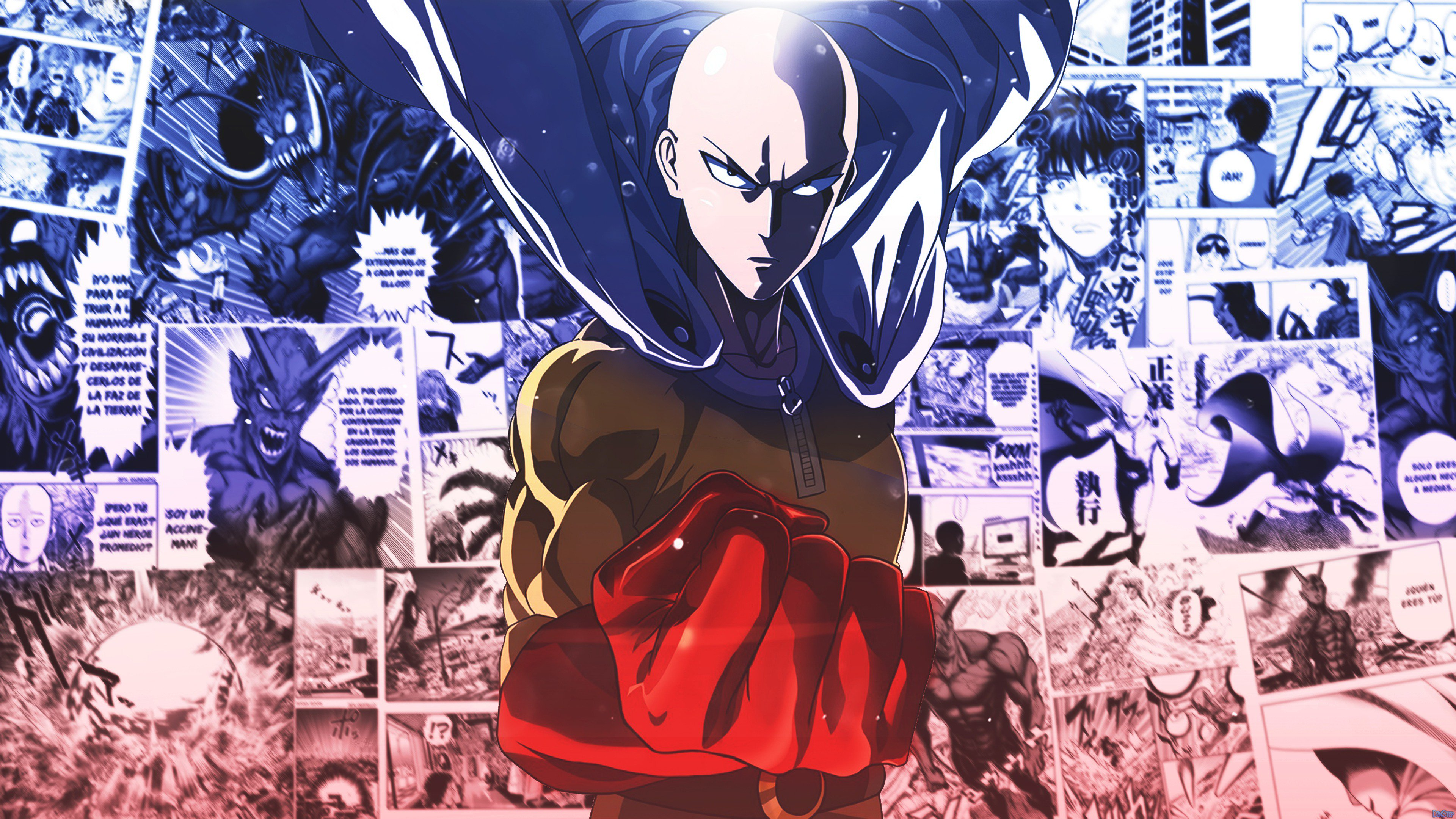 Saitama One Punch Man 4k Wallpaper 65