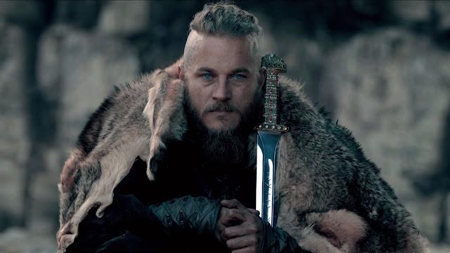 Rei Ragnar Lothbrok da série Vikings!