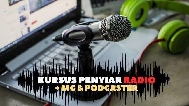 Kursus Penyiar Radio MC dan Podcaster RBS