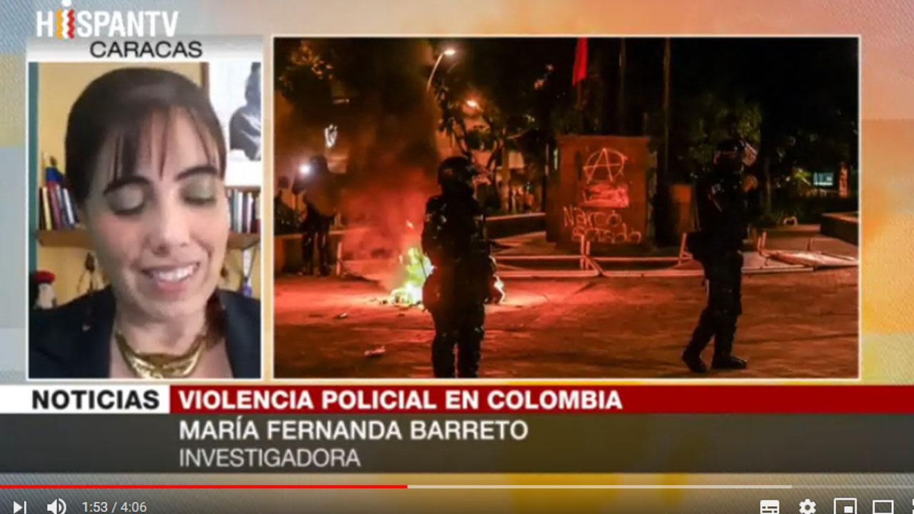 Barreto: Colombia vive un conflicto social y armado sin resolver