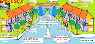 REVITALISASI PASAR PROYEK BEKASI-GERBANG JL.JUANDA 2