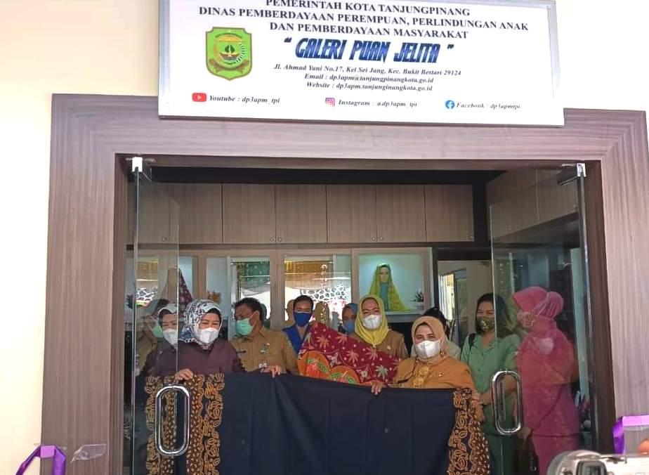 Wagub Kepri dan Wako Tanjung Pinang Resmikan Galeri Puan Jelita