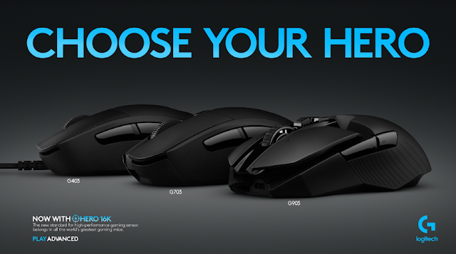 hero 16k mouse