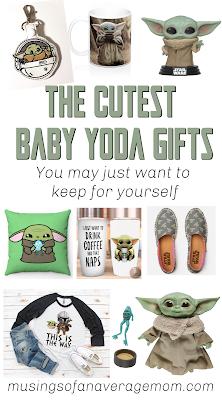 Baby Yoda gift Ideas