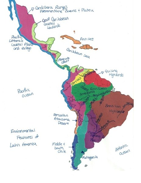 Breane Bos LAST 211: A look at Latin America's geography on countries of south america, languages of south america, major exports of south america, area of south america, geographical features asia, geographical features africa, customs of south america, clothing of south america, physical features of america, geographical map of latin america, mountains in south america, people of south america, industry of south america, rivers of south america, geographic regions of south america, detailed map south america, historic sites of south america, list lakes in south america, roads of south america, physical characteristics of south america,