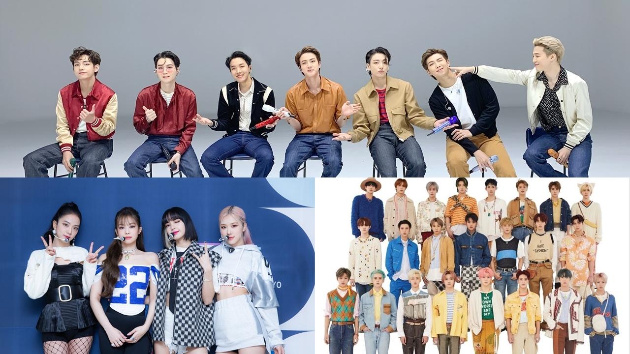 List of 50 Popular K-Pop Groups in December 2020