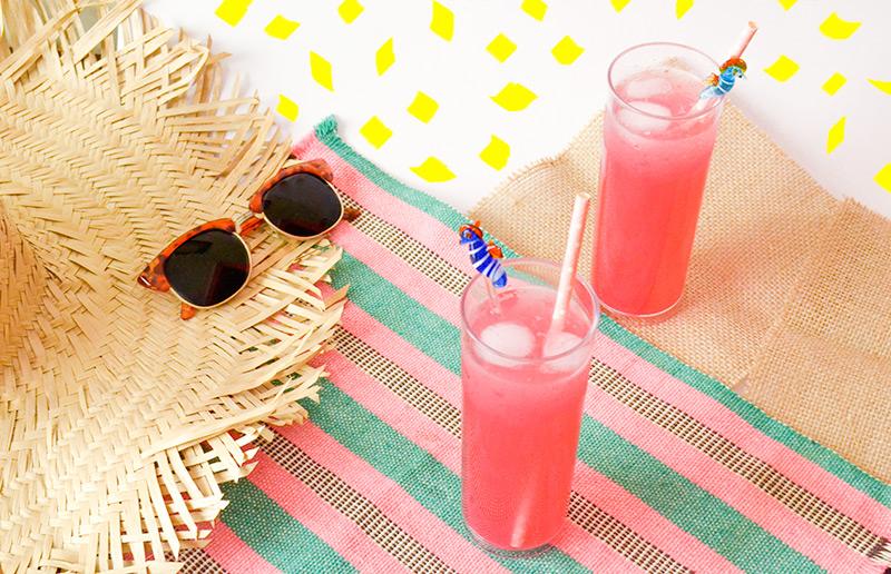 Receita de limonada rosa é gostosa e linda!
