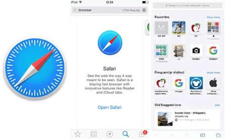 Aplikasi browser safari
