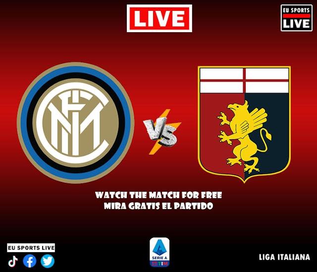 EN VIVO | Inter de Milan vs. Genoa | Partido de la Liga Italiana Jornada 1 | Ver Gratis Sin Costo