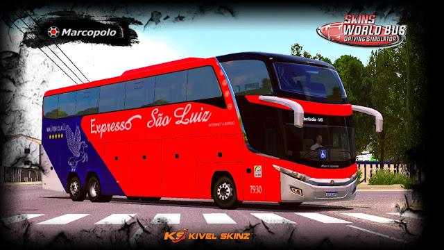 PARADISO G7 1600 LD - VIAÇÃO EXPRESSO SÃO LUIZ