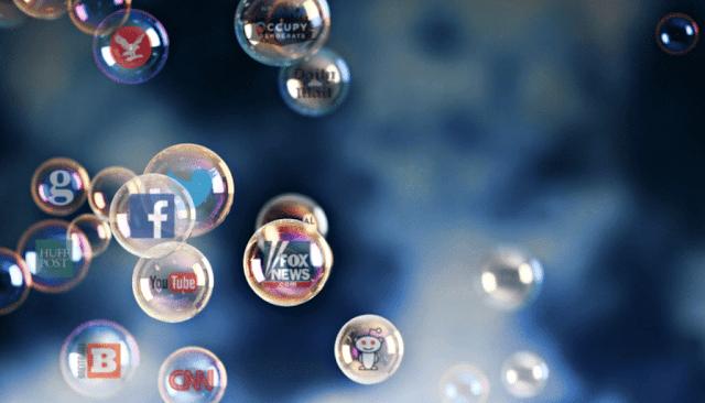 Filter bubble di media sosial